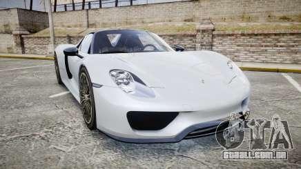 Porsche 918 Spyder 2015 para GTA 4