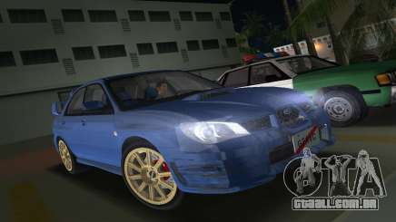 Subaru Impreza WRX STI 2006 Type 1 para GTA Vice City