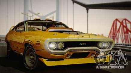 Plymouth GTX Tuned 1972 v2.3 para GTA San Andreas