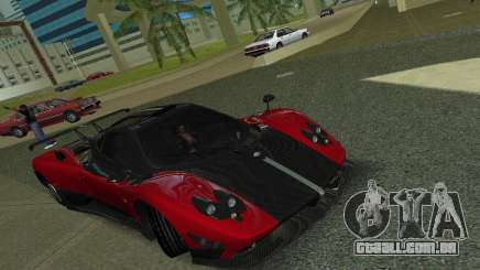 Pagani Zonda Cinque para GTA Vice City