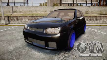 Volkswagen Golf Mk4 R32 Wheel1 para GTA 4