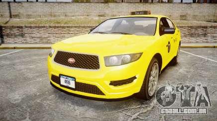GTA V Vapid Taurus Taxi NYC para GTA 4