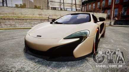 McLaren 650S Spider 2014 [EPM] Bridgestone v1 para GTA 4