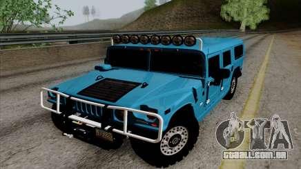 Hummer H1 Alpha 2006 Road version para GTA San Andreas