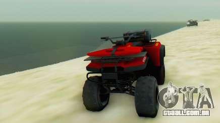 Nagasaki Blazer Lifeguard para GTA San Andreas