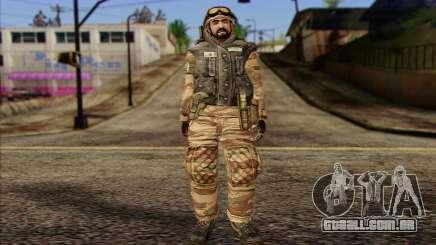Soldados MEK (Battlefield 2) Pele 3 para GTA San Andreas