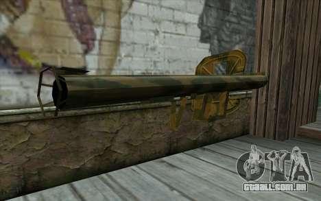 Panzerschreck a partir do Dia da Derrota para GTA San Andreas segunda tela