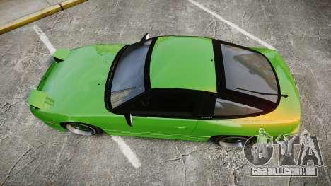 Nissan 240SX S13 Tuned para GTA 4 vista direita