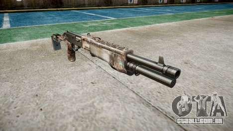Ружье Franchi SPAS-12 Zumbis para GTA 4