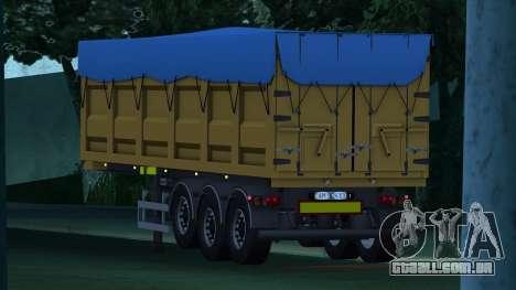 Semi-reboque basculante BODEX Bigcargo para GTA San Andreas