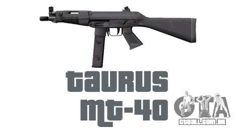 Arma da Taurus MT-40 buttstock1 icon2 para GTA 4 terceira tela