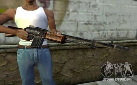 BAR-1918 from Day of Defeat para GTA San Andreas terceira tela