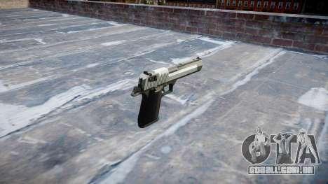 Пистолет IMI Desert Eagle Mk XIX em Dois tons para GTA 4 segundo screenshot