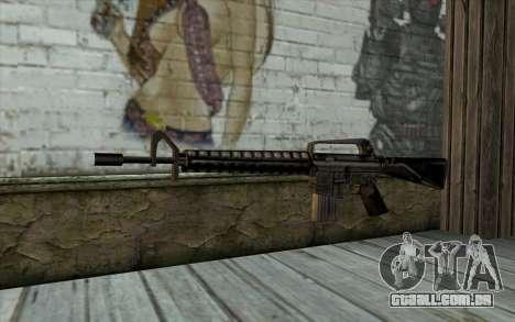 M16 from Beta Version para GTA San Andreas