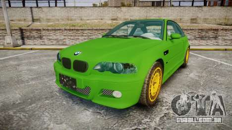 BMW M3 E46 2001 Tuned Wheel Gold para GTA 4