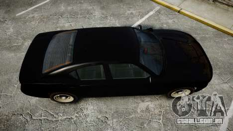 GTA V Bravado Buffalo Unmarked [ELS] Slicktop para GTA 4 vista direita