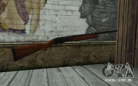 MP-153 Murka para GTA San Andreas segunda tela