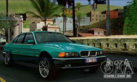 BMW 7-series para GTA San Andreas