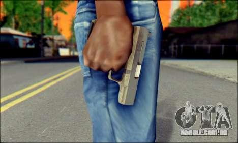 Walther P99 Bump Mapping v2 para GTA San Andreas terceira tela