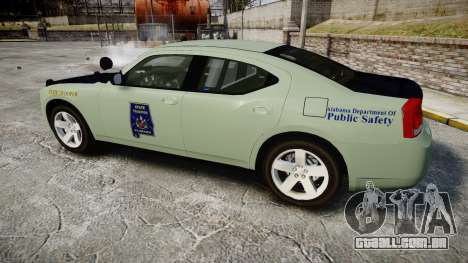 Dodge Charger 2010 Alabama State Troopers [ELS] para GTA 4 esquerda vista