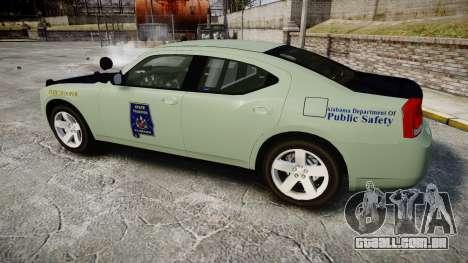 Dodge Charger 2010 Alabama State Troopers [ELS] para GTA 4 esquerda vista