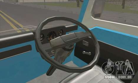 Isuzu ELF para GTA San Andreas traseira esquerda vista