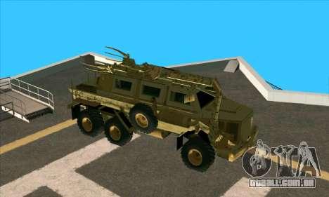Bonecrusher Transformers 2 para GTA San Andreas traseira esquerda vista