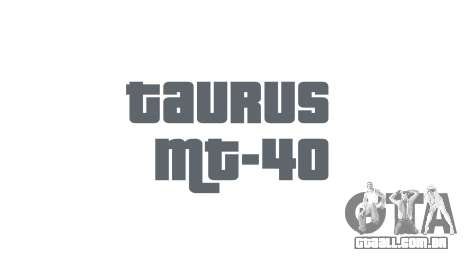 Arma da Taurus MT-40 buttstock1 icon1 para GTA 4 terceira tela