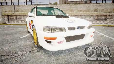 Subaru Impreza WRC 1998 SA Competio para GTA 4