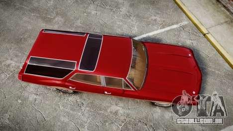 Oldsmobile Vista Cruiser 1972 Rims1 Tree2 para GTA 4 vista direita