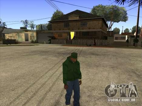 Cleo Walk Style para GTA San Andreas segunda tela