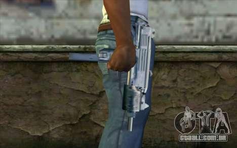 Uzi from Beta Version para GTA San Andreas terceira tela
