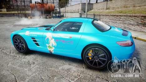Mercedes-Benz SLS AMG v3.0 [EPM] Kotori Minami para GTA 4 esquerda vista