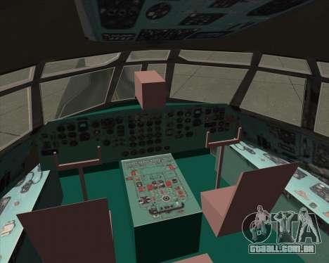IL-76TD ALROSA para GTA San Andreas interior