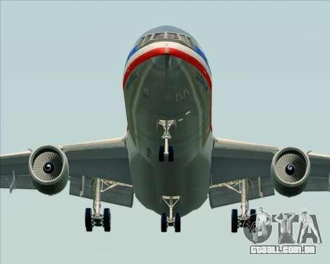 McDonnell Douglas DC-10-30 American Airlines para GTA San Andreas vista traseira