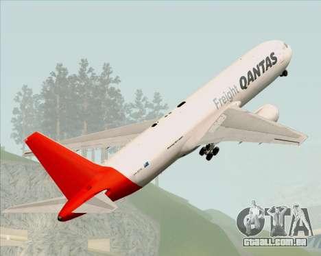 Boeing 767-300F Qantas Freight para GTA San Andreas