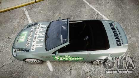 Benefactor Feltzer Grey Series v2 para GTA 4 vista direita