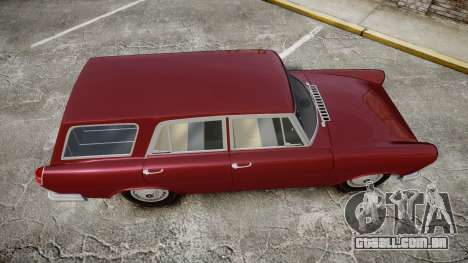 FSO Warszawa Ghia Kombi 1959 para GTA 4 vista direita