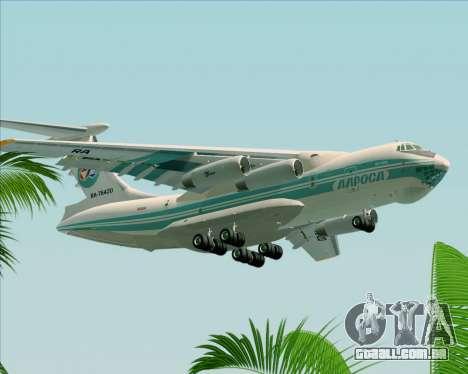 IL-76TD ALROSA para GTA San Andreas vista direita