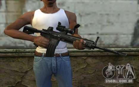 HK416 (Bump mapping) v2 para GTA San Andreas terceira tela