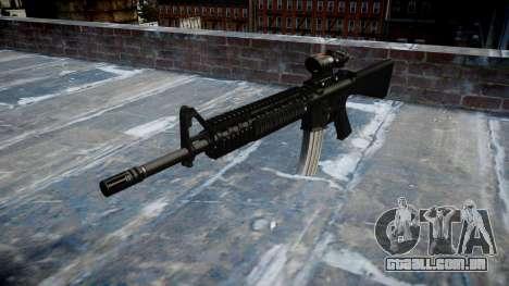 Rifle M16A4 ACOG alvo para GTA 4