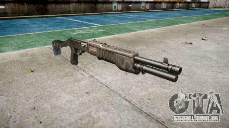 Ружье Franchi SPAS-12 Kryptek Typhon para GTA 4