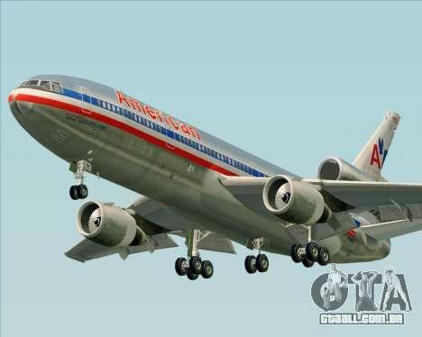 McDonnell Douglas DC-10-30 American Airlines para GTA San Andreas esquerda vista