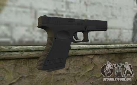 Glock 18C para GTA San Andreas segunda tela