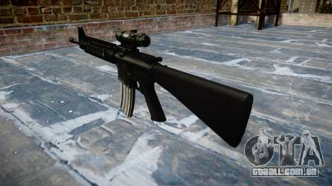 Rifle M16A4 ACOG alvo para GTA 4 segundo screenshot