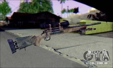 M24Jar rifle Sniper de SGW2 para GTA San Andreas segunda tela