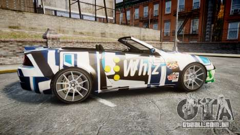 Benefactor Feltzer Grey Series v2 para GTA 4 esquerda vista