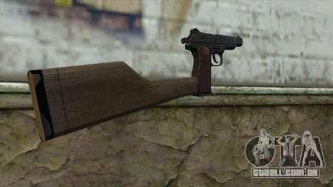 Stechkin Pistola Automática para GTA San Andreas segunda tela
