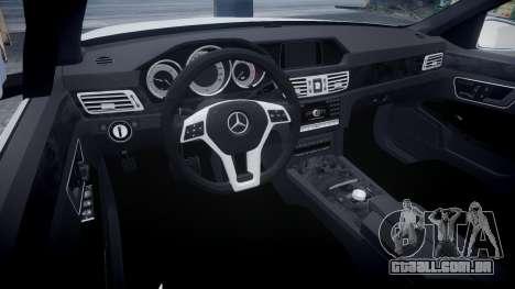 Mercedes-Benz E63 W213 AMG 2014 Vossen para GTA 4 vista de volta
