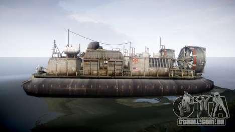 LCAC US Navy para GTA 4 esquerda vista